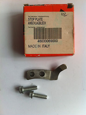 GENUINE OEM KTM  60 / 65 sx 1998 - 08 KICK START STOP PLATE 46033069000
