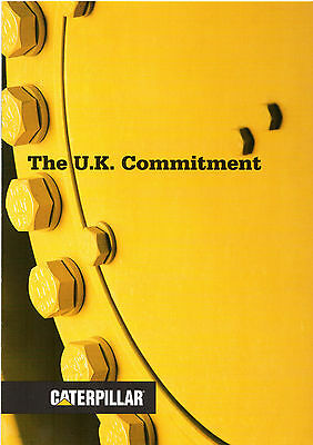 Caterpillar UK Commitment 1999 UK Market Corporate Sales Brochure