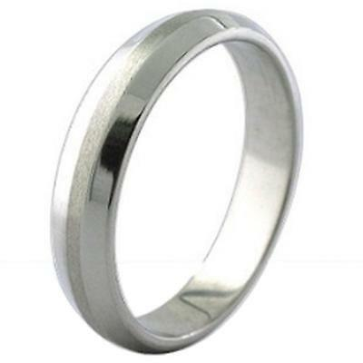 Mens Stainless Steel Wedding Ring Silver Band Engagement Thumb Wholesale NEW