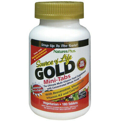 Nature's Plus Source Of Life Gold Mini-Tabs 180