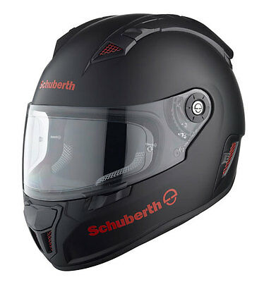 Schuberth Sr1 Stealth Red Motorcycle Helmet- Small