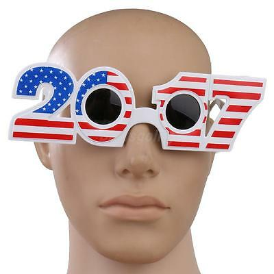 Fun American USA US Flag 2017 Sunglasses Fancy Dress Party Glasses Shades