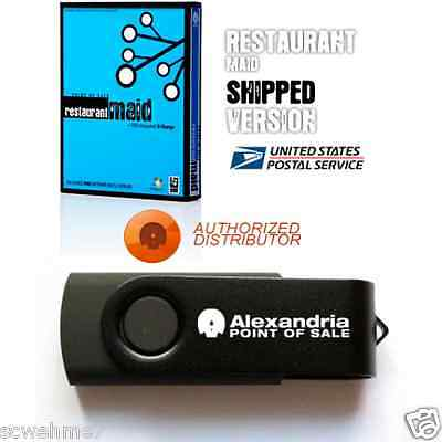 Alexandria Maid Software for Restaurants - Software Only - Hardware Available