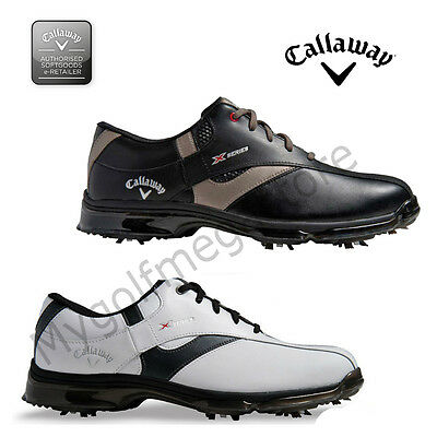 Callaway X NItro Mens Golf Shoes WIDE FIT- NEW - Leather uppers and waterproof-