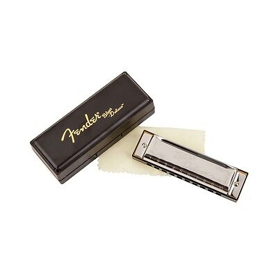 Fender Blues Deluxe Harmonica - Key of C - ideal for Blues Country Rock Style
