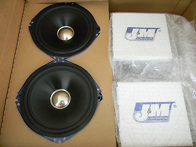 J & M Rokker Speakers for Harley Touring w/ Batwing Fairing 2006-2013