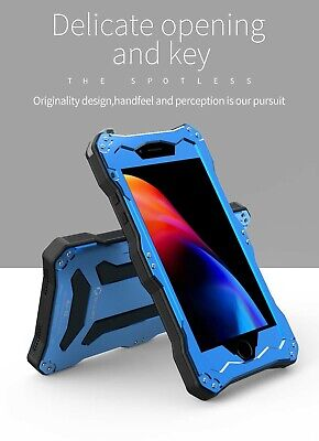 Shockproof Aluminum Waterproof Gorilla Metal Case For iPhone 6 7 8 X XR 5SE Plus