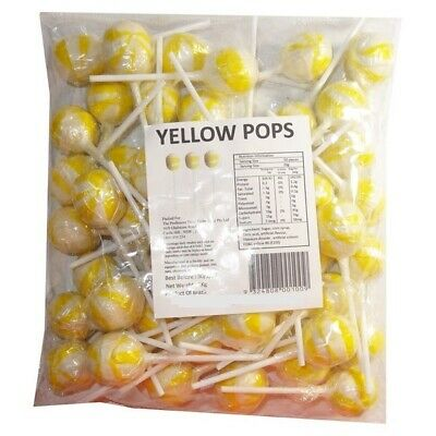 Ball Lollipop Yellow