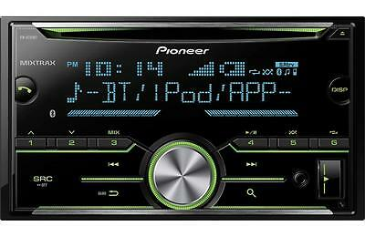 Pioneer FH-X731BT Double 2 DIN InDash CD Player Bluetooth MIXTRAX Pandora New