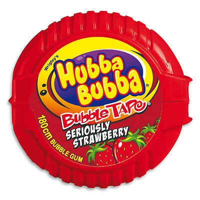 Hubba Bubba Tape Strawberry