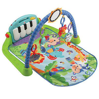 NEW Fisher-Price Baby Gym Kick And Play Piano For Age 0+ Years