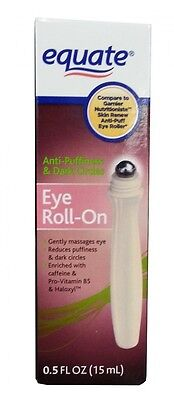 Equate Eye Roll-On Anti Puffiness and Dark Circles. Garnier Nutritioniste Skin R