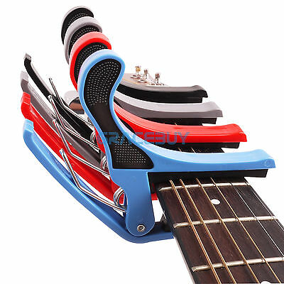 Guitar Capo Quick Change Tune Tunner Capo for Acoustic Electric Guitar Ukulele