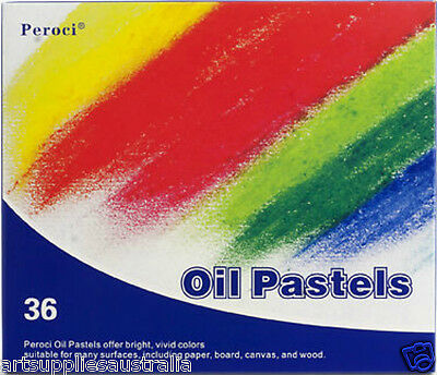 Peroci Oil Pastel Set 36 Vibrant Colors- Purest Pigments -POP201136