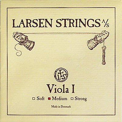 "Larsen Viola A (Loop) String Medium Tension 15-16.5"" Size"