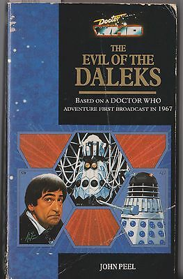 Dr Doctor Who - The Evil of the Daleks. GC copy. Rare!