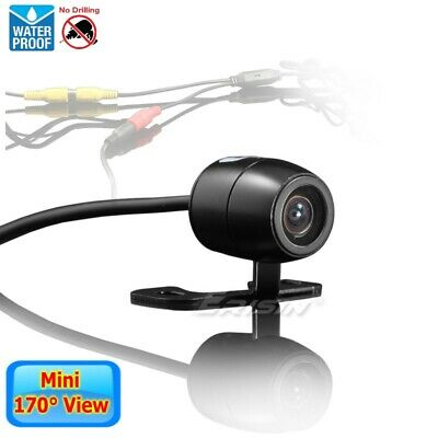 Rear View Camera Nameplate 18mm Mini Design 170° View Angle Color CCD Car ES580