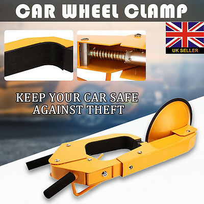 """Anti-Theft Auto Car Vehicle Wheel Clamp Disk Lock For 13 14 15 16"""" inch Wheel"""