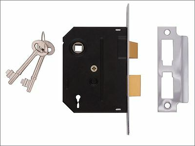 UNION - 2295 2 Lever Mortice Sashlock Chrome Finish 63mm 2.5in Visi