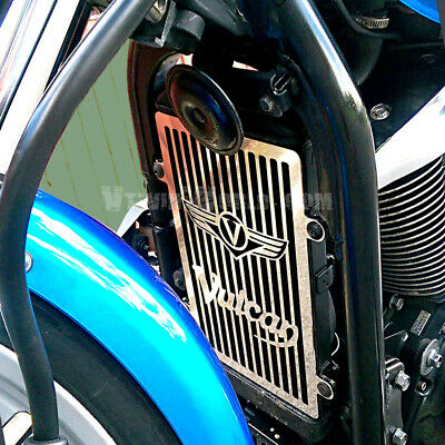 Vn900 Kawasaki Vulcan Stainless Radiator Grill Guard Cover
