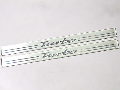 Genuine New VAUXHALL TURBO INTERIOR DOOR SILL PLATES For Zafira Astra G GSi OPC