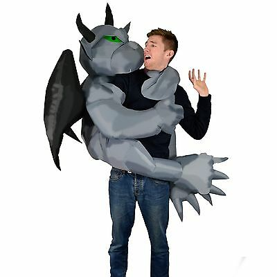 Inflatable Gargoyle Halloween Fancy Dress Blow Up Party Cosplay Costume