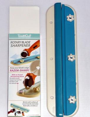 TrueCut Rotary Blade Sharpener  sharpening Tool new blue colour