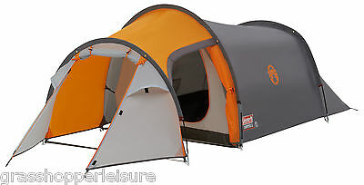 COLEMAN CORTES 2 MAN TENT camping festival person expedition bright coloured