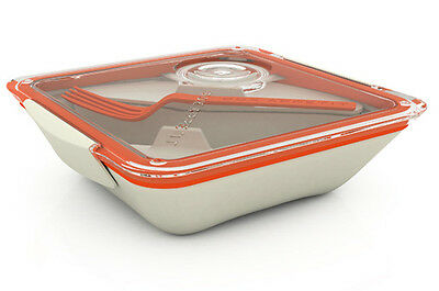 Orange Box Appetit Lunchbox by Black + Blum