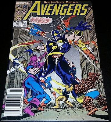 The Avengers #303 (May 1989, Marvel)