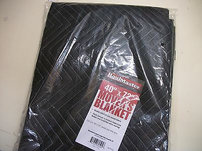 MOVING BLANKET NEW New in Pkg 40 x 72 Double Stitch Free Ship Haulmaster Blanket