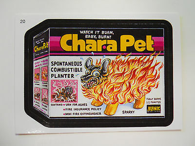2005 Topps Wacky Packages Trading Card #20-Chara Pet-Chia Pet