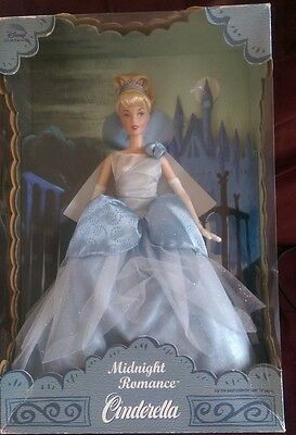 Doll Cinderella Midnight Romance Fairytale Disney Collector Gift Barbie New/Box