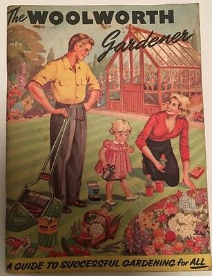 "Vintage 1960's Gardening Booklet - ""The Woolworth Gardener"" Great Retro Adverts!"
