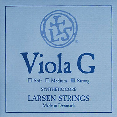 "Larsen Viola G String Strong Tension 15-16.5"" Size"