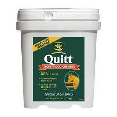 Farnam - Quitt Horse Anti-Wood Chewing Supplement x 1.7 Kg For Horses Feed