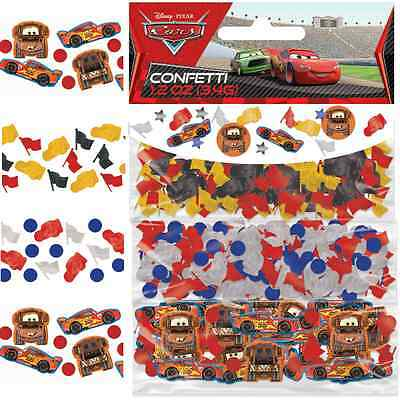 Disney Pixar Cars Mcqueen Birthday Party Decoration Confetti Table Sprinkles