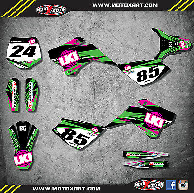 YCF 50 A custom graphics kit DUKE  style / decals / stickers / sticker kit