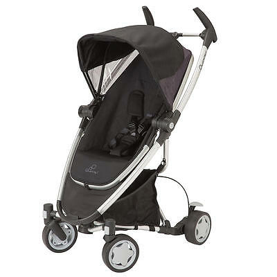 Quinny Zapp Xtra stroller with folding seat - Rocking Black