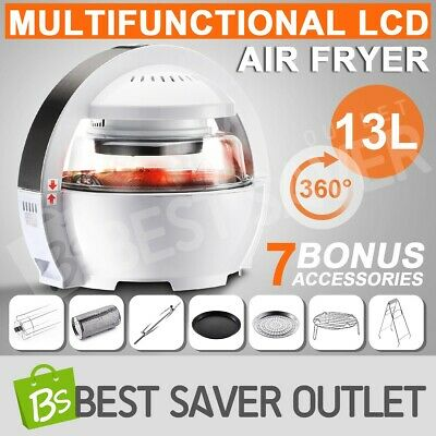 13L LCD Digital Oil free Air Fryer Oven Cooker Space Explorer Inspired Low Fat