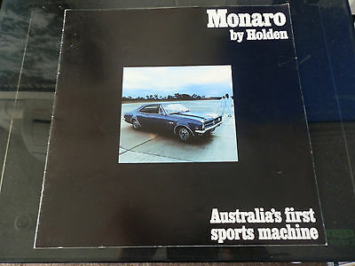 Holden 1968 Hk Gts Monaro Sales Brochure. 100% Guarantee