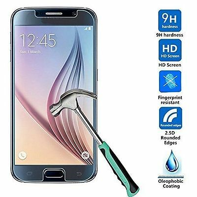 Lot New 9H+ Premium Real Tempered Glass Screen Protector for Samsung Galaxy S7