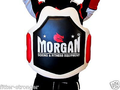 Kick Boxing Muaty Thai Belly Pad Chest Body Shield Mma Guard Protector Sydney