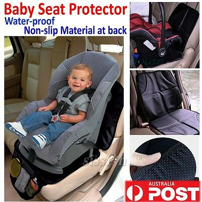 Car Seat Protector Auto Baby Infant Child Safety Anti Slip Cushion Cover Black