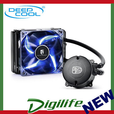 DeepCool Maelstrom 120T Blue Enclosed Liquid Cooling System for Intel & AMD