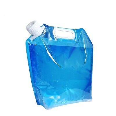 10 Litres Collapsible Camping / Travel Water Storage Container Pouch BPA Free