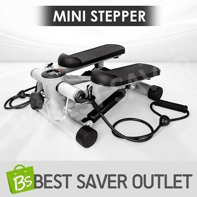NEW Compact Mini Stepper Calves Thighs Fitness Workout Trainer Exercise Home Gym