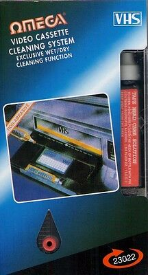 VHS Video Head Cleaner (1 pack). Free Shipping