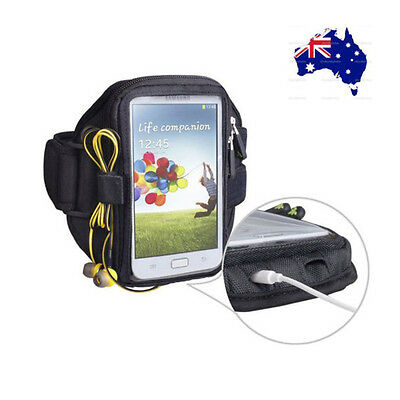 Iphone/Samsung Fashion Trackpouch Gym Jogging Exercise Running Sports Armband