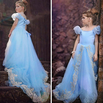 Cenerentola - Vestiti Carnevale Dress up Princess Cinderella Costumes -02